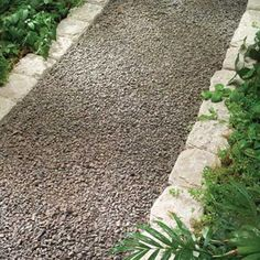 Do It Yourself Garden Paths | ... , affordable gravel path to your garden: http://shout.lt/f9N7