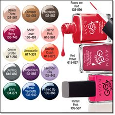 AVON'S Gel Finish 7-in-1 Nail Enamel 7 BENEFITS IN 1! 1 Shine 2 Gel-like Finish 3 Vivid Color 4 Base Coat 5 Top Coat 6 Protection 7 Strengthener .4 fl. oz. Price: $7.00 LOWEST PRICE EVER...$3.99 order here: www.youravon.com/mhamilton39 and bring in the New Year with style. Register your email with me and get 10% off your next purchase plus other great offers. Thanks and Happy shopping!