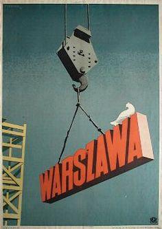 Polish Political Poster by Trepkowski Tadeusz, 1952, Warszawa.
