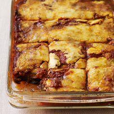 weight watchers recipe for no noodle veggie lasagna.