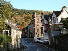 Callander Town Centre - Gateway to the Highlands, Scotland