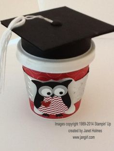 Graduation coffee cup by holmesj - Cards and Paper Crafts at Splitcoaststampers