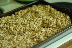 Trim Healthy Tuesday:  Crunchy Coconut Granola  Trim Healthy Mama friendly