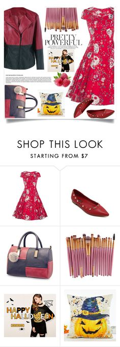 """""""Banner from Rosegal homepage"""" by nejra-l ❤ liked on Polyvore featuring Halloween and giveaway"""