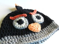 FREE Crochet Pattern - Angry Birds Hat