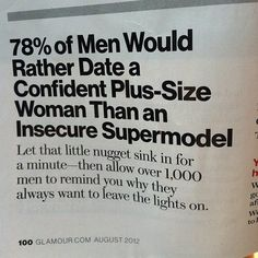 Quote on Men's Preferences in Women.