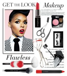 """""""Janelle Monae: Flawless"""" by glamorous09 ❤ liked on Polyvore featuring beauty, Gorgeous Cosmetics, Smashbox, Earth Therapeutics, Chanel, Kevyn Aucoin, H&M, MAC Cosmetics, Clinique and Marc Jacobs"""