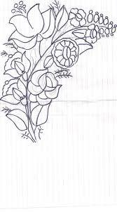 Kalocsa - embroidery pattern