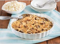 How To Use Veggies as Carb Alternatives   FUSIA Magazine  (Cauliflower Mushroom Gratin Recipe)