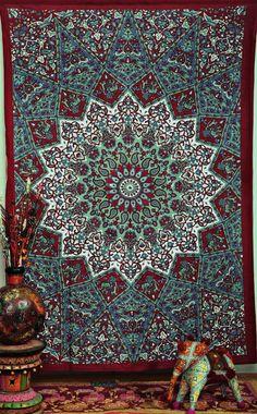 ➳➳➳☮bohojodi | Magical Thinking Wall Bed Beach Floor Boho Tapestry - GoGetGlam - 1