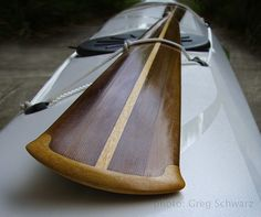 Gnarlydog News: GEAR: Greenland paddle_The Hammerhead™ Wood Canoe, Wooden Kayak, Wooden Paddle, Canoe Camping, Canoe And Kayak, Sea Kayak, Kayak Fishing, Greenland Paddle, Boats