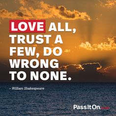 Love is in you. Pass it on.  #love #passiton www.values.com