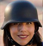 Matte Black German Helmet by skullcrushgear, must have in Purple Chrome!