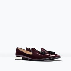 ZARA - COLLECTION SS15 - PATENT SLIPPER