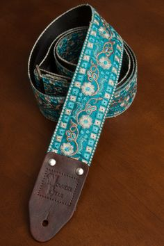 "Turquoise Cherokee Ukulele 1.5/"" Instrument Strap Brown Purple"