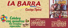 Restaurante La Barra - Salon de eventos