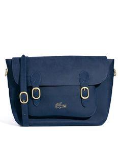 Lacoste Live Double Buckle Shoulder Bag