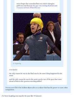 29 Times Australians Were The Realest On   tumblr, funny, australia, winter olympics, haha, lol, text posts