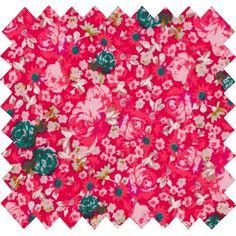 Tissu coton lili rubis. Découvrez Tissu coton lili rubis original et pas cher (11,00 €), en vente sur Papa Pique et Maman Coud et toute une gamme de Tissus coton fantaisie