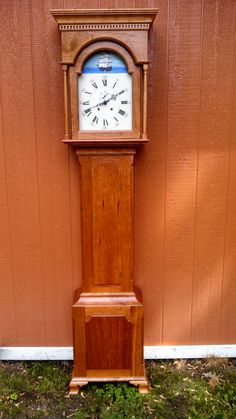 Tall Case Clock by AndrewBetschman on Etsy Antique Grandfather Clock, Cast Iron, It Cast, Netflix Gift Card, Wood Gift Box, Classic Clocks, Wine Table, Time Stood Still, Family Tree Wall