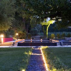 Jardin on pinterest pools lap pools and small pools - Eclairage jardin led ...