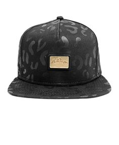 10 Deep - Gold Standard Snapback (Black Leopard)  40 Independent Clothing 2eb1cec72a0e