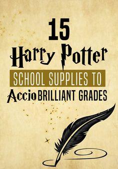 15 Harry Potter School Supplies to Accio Brilliant Grades | Potter Talk