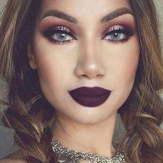 O que é essa maquiagem bafonica da @makeupbyalinna? Tombou todo mundo já no começo dessa manhã