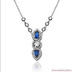Authentic Silver Necklace by SilverJewelryStore on Etsy, $39.00