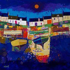 Scottish Artist George BIRRELL-Foreshore
