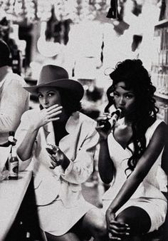 Naomi Campbell, Christy Turlington