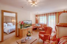 Family Suite in the Hotel Alpenpalace