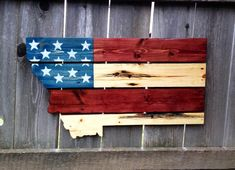 State pride pallet art. Made from recycled material, home decor at its best. #Montana #pallets