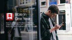 I finished the Bible In One Year Bible reading plan from @YouVersion! Take a look here: