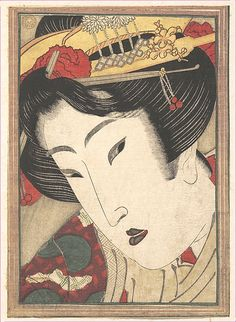 Rejected Geisha from Passions Cooled by Springtime Snow -  Keisai Eisen (Japanese, 1790–1848)