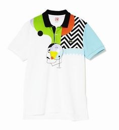 Lacoste LIVE Spring-Summer 2011 collaboration with Cédric Honet, artist and icon of the Paris graf sphere.