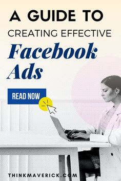 Beginner's Guide to Successful Facebook Ads. In this guide, we'll learn about popular ad types as well as advanced strategies to accurately target the customers and generate sales. So let's dive head-first into Facebook ads and find out how you can excel at making ads that get your business the attention it needs to succeed. #facebook #facebookads #socialmedia #facebookmarketing Facebook Ads Cost, Facebook Ad Template, Best Facebook, How To Use Facebook, Facebook Business, Facebook Marketing, Social Media Marketing, Marketing Strategies, Digital Marketing