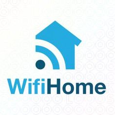 Exclusive Customizable Logo For Sale: Wifi Home | StockLogos.com