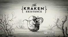 Kraken Rum Illustrated Animations... by Steven Noble, via Behance