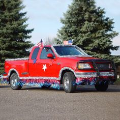 patriotic floats | Easy Float Patriotic Truck Kit - Metallic - Parade Floats