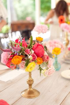 Colorful Old Edwards Inn Wedding by Gina Zeidler, Part II - Southern Weddings Magazine