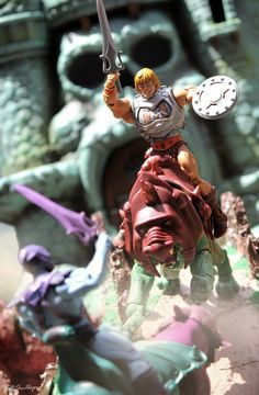 "Toy Photography Addict: He-Man and the Masters of the Universe ""The Eternian War"""