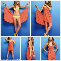 Victoria´s Secret plážové letní šaty M cover up