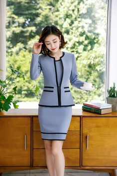 Back To Search Resultswomen's Clothing Pant Suits Strong-Willed Lake Blue Women Business Suits Formal Office Suits Work Slim Fit Female Touser Suit Ladies Formal Wear 2 Piece Suits Custom Made Clients First