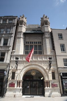 The building which houses our friends Bishopsgate Institute