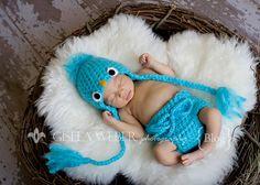 Crochet Pattern CROCHET Baby Hat Pattern Blue by SnassyCrafter