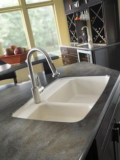 Corian® Lava Rock Countertop With Sink. Lava Rock Is Part Of The Private  Collection
