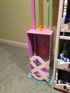 Front View of Doll House elevator