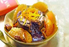 blood orange lava-cakeje van chocolade Lava Cakes, Blood Orange, High Tea, Cake Cookies, Baking, Delicious Magazine, Desserts, Recipes, Om