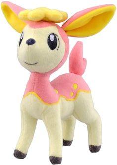 Pokemon Best Wishes Pokedoll Plush Doll Takaratomy N-13 - Shikijika/Deerling Takara Tomy http://smile.amazon.com/dp/B0047737TS/ref=cm_sw_r_pi_dp_RSXQub1BKNC59